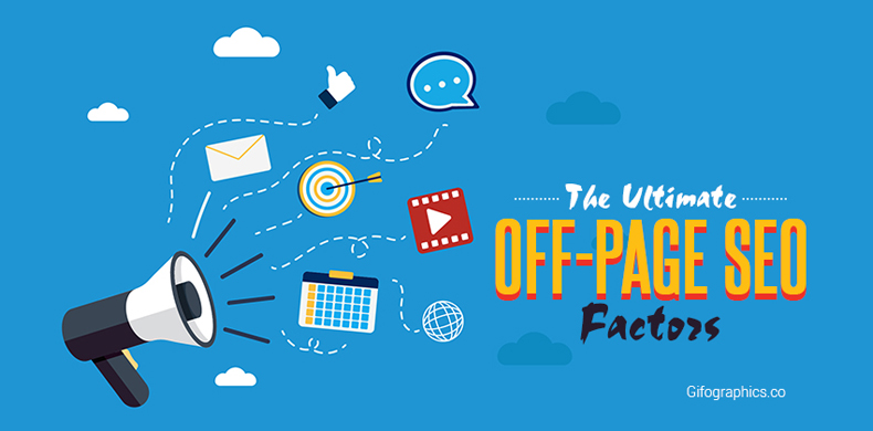 Off Page SEO Factors - Gifographics