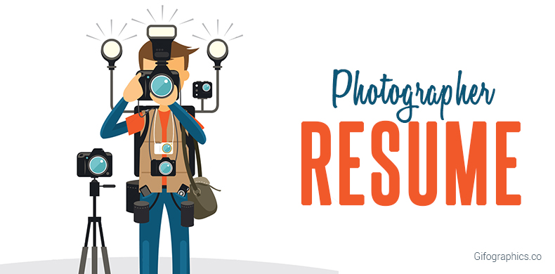 Photographer Resume [Infographic Template]