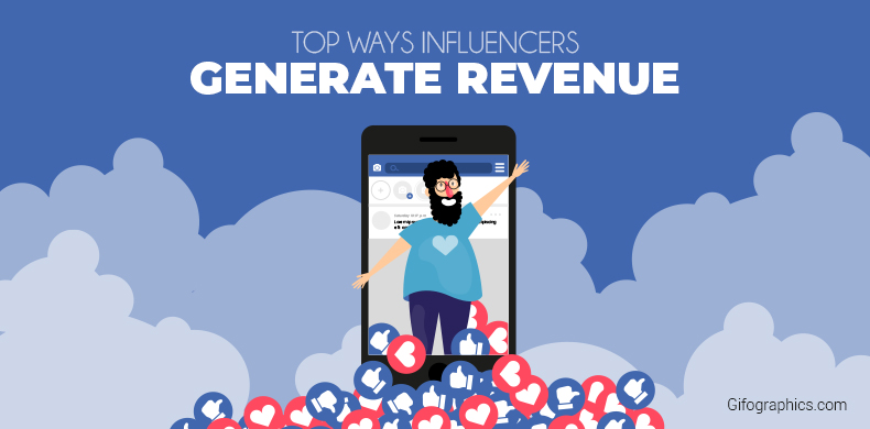 Top Ways Influencers Generate Revenue